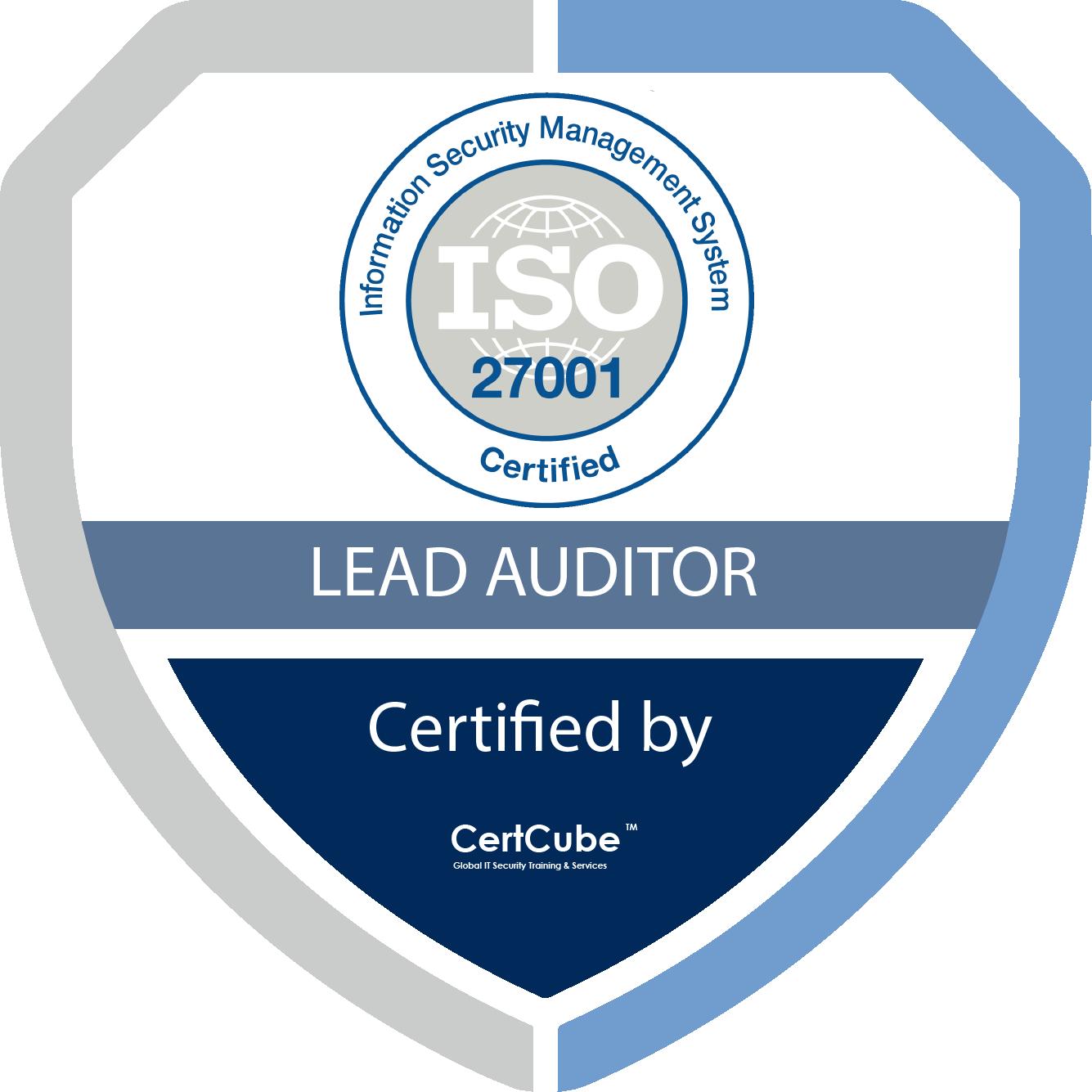 certcube ISO 27001 lA 1