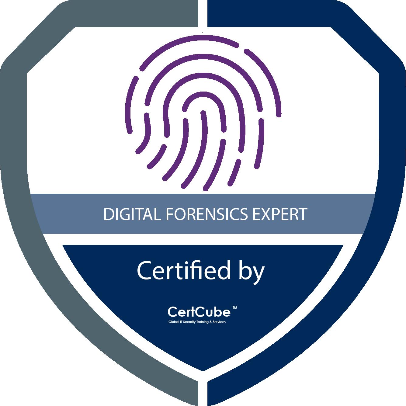 Certcube digital forensics expert 1