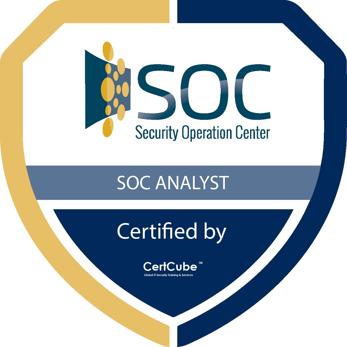 certcube SOC Analyst | SOC-121 1